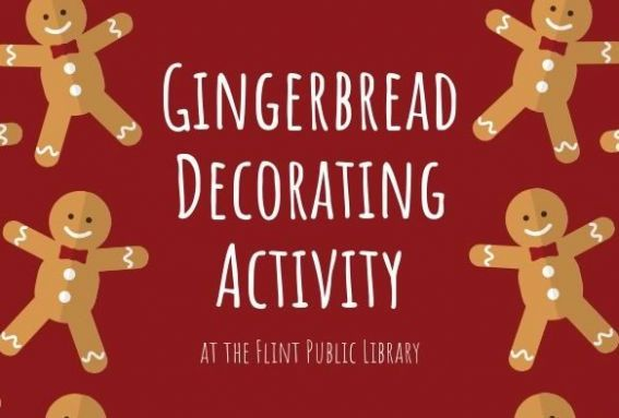 Gingerbread Decorating at Flint Public Library in Middleton Massachusetts