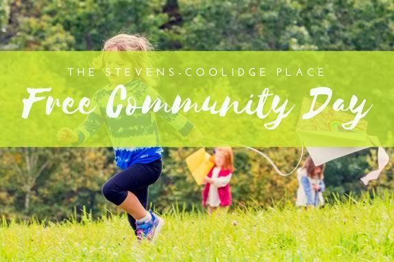 Come to the free community day at the Trustees of Reservations'Stevens Coolidge Estate in North Andover