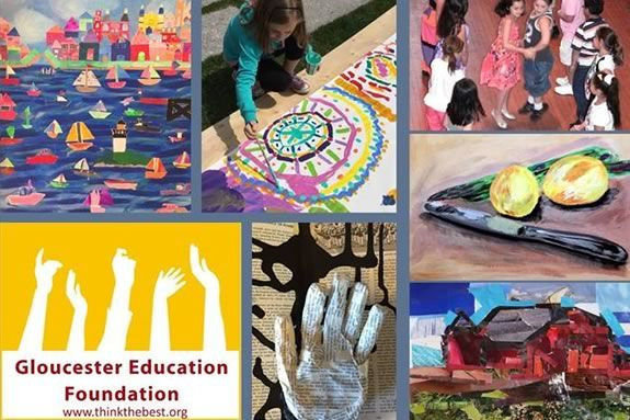Gloucester Education Fund's Public School Art Festival in Gloucester Massachusetts
