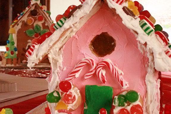 Gingerbread House workshop at Appleton Farms in Ipswich Massachusetts