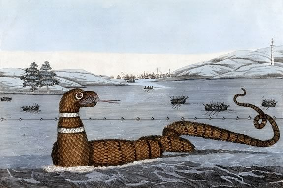 Free Gloucester Serpent fun at Maritime Gloucesteras part of Trails and Sails