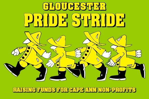 The annual Gloucester Pride Stride raises money for Cape Ann non-profits!
