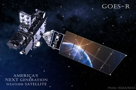 Learn about the new NASA/NOAA satellite for measuring space and planet weather!