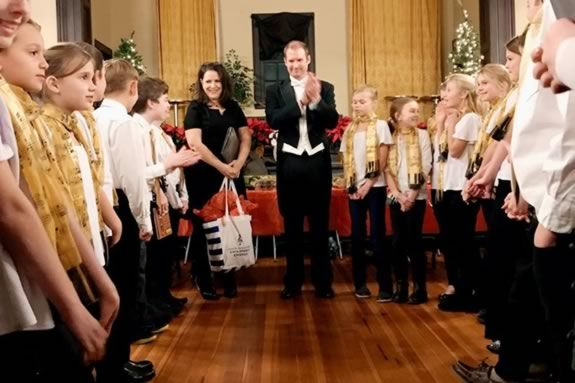 Greater Newburyport Children's Chorus Spring Semester Auditions at Hope Church
