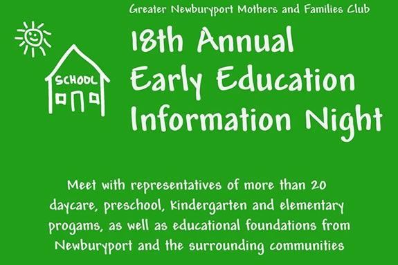 Early Education Night at Newburyport City Hall