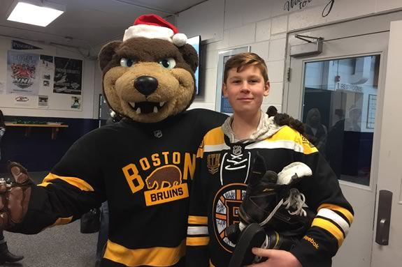 Help Griffin Bouchard help others by attending the fundraiser he founded at the Pingree rink in Hamilton!