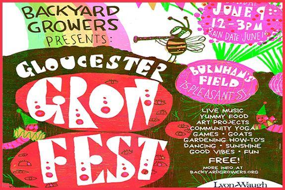 Backyard Growers host the Gloucester Grow Fest at Burnham's Field in Magnolia Massachusetts
