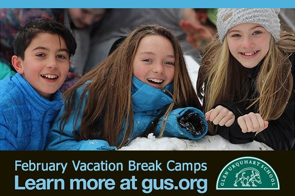 February Vacation Week Camps and Programs