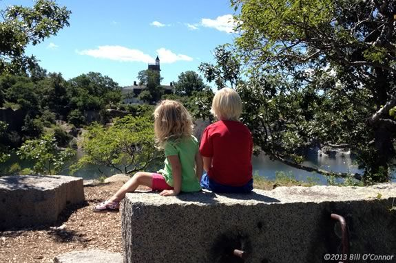 Kids will enjoy this tour of the Halibut Point State Park and Quarry with a focus on its stone-cutting history!