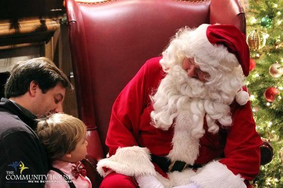 Kids will enjoy Breakfast with Santa at the Hamilton Wenham Community House