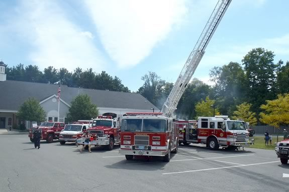 Hamilton's Public Safety Day includes a bike rodeo, ice cream, firefighter demos and touch a truck!