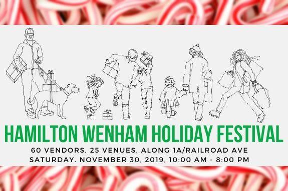 Hamilton Wenham Holiday Festival is a fun holiday event!
