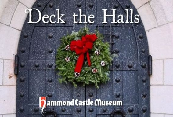A holiday themed tour of Hammond Castle in Gloucester Massachusetts