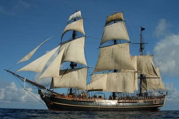 The HMS Bounty wiil be in Newburyport Friday, July 13 - Sunday, July 15