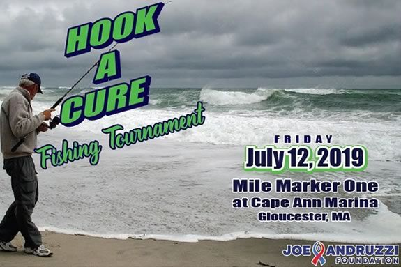 Hook a Cure fishing tournament in Gloucester at the Cape Ann Marina to benefit Dana Farber Cancer Institute in Gloucester at the Cape Ann Marina