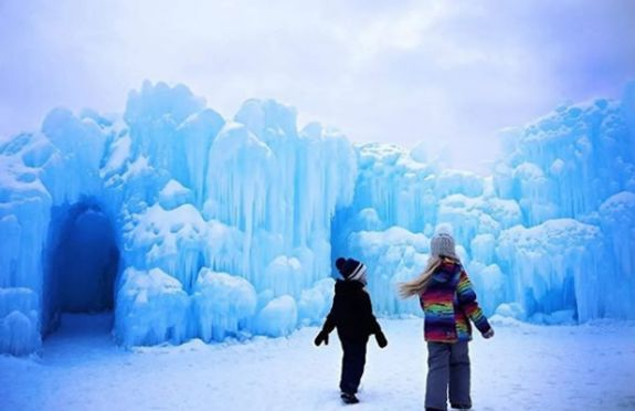 Ice Castles - New Hampshire Family Fun