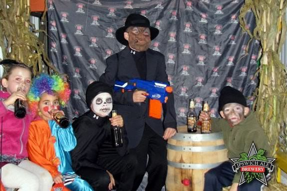 Ipswich Ale Halloween Extravaganza in Ipswich Massachusetts is for kids and adults!