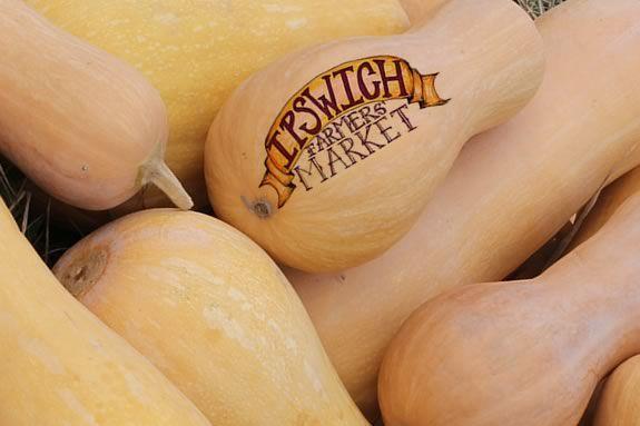 Ipswich Harvest Market on the Center Green in Ipswich Massachusettts