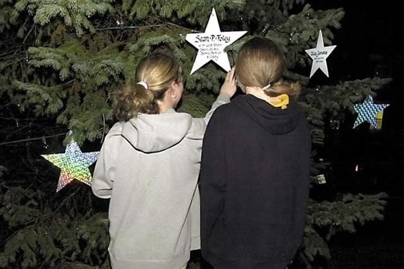 Come remember family and friends at the Ipswich Massachusetts Memory Tree Lighting