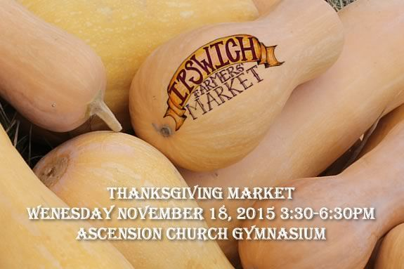 Farmers Market, Thanksgiving