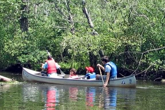 Take a paddle on the with your little ones and explore the Ipswich River Wildlife Sanctuary!
