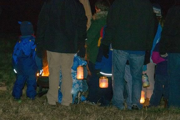 Come celebrate the Winter solstice at Ipswich River Wildlife Sanctuary with a night time walk using lanterns!