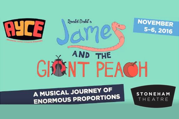 James and the Giant Peach at Stoneham Theatre