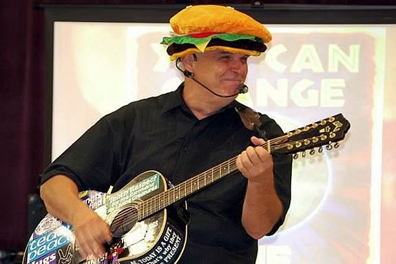 Join a fun interactive family live music event with Johnny the K at Danvers Public Library
