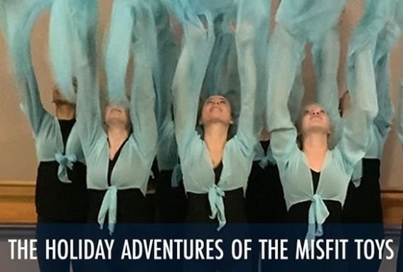 Holiday Adventures of the Misfit Toys performed by Jaoppa Dance Company at the Firehousecenter for the Arts
