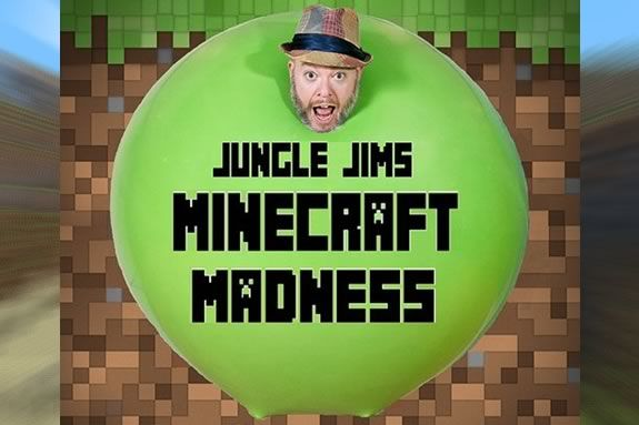 Jungle Jim's Minecraft Madness combines Magic, Comedy and balloons at Newbury Town Library Massach