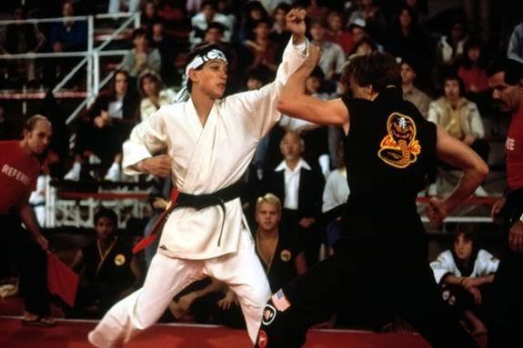 Come to a 35th Anniversary Screening of the Karate Kid at the Cabot Theater in Beverly Massachusetts!