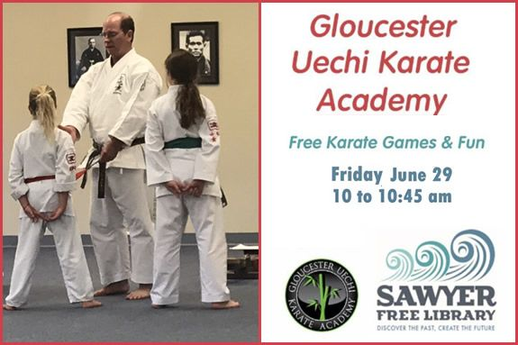 Free Karate Games and Fun for Kids at Sawyer Free Library