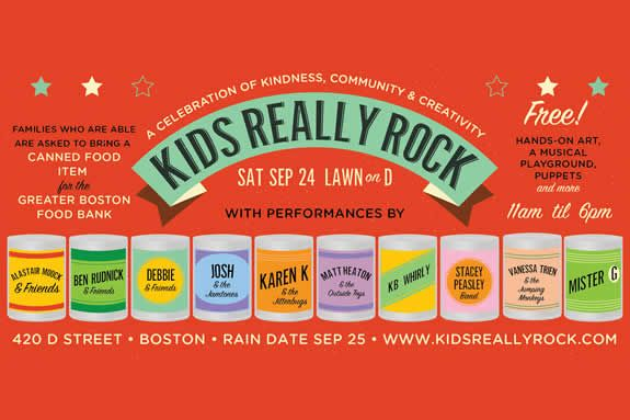 Kids Really Rock Boston