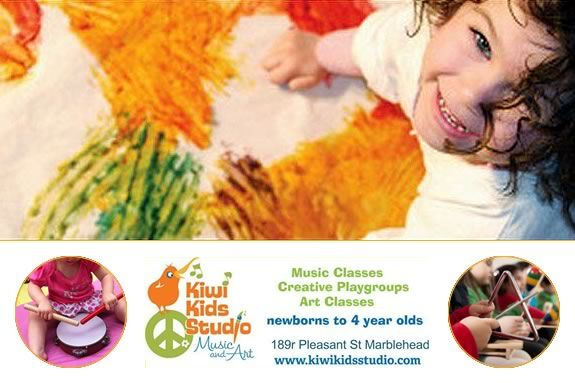 Come to an Open House at the Kiwi Kids Studio in Marblehead.