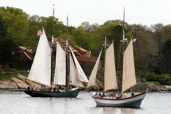 The Schooner Challenge is a fundraiser for the Essex Shipbuilding Museum!