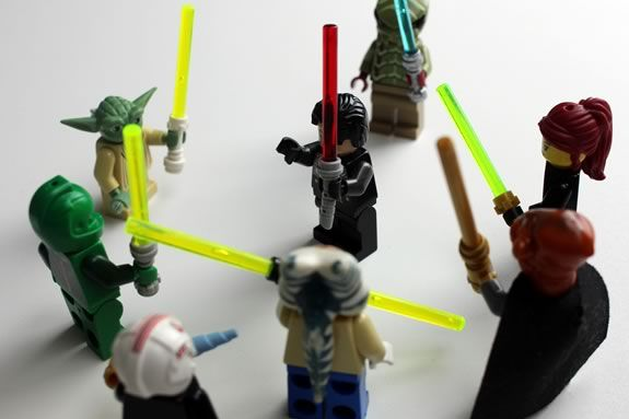 Jedi LEGO Workshop at Wenham Museum for kids