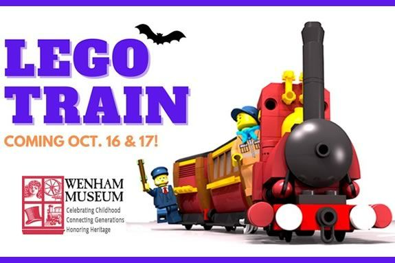 The Lego Train Returns to Wenham Museum 2021 designed with the highest degree of precision by the New England Lego Users Group