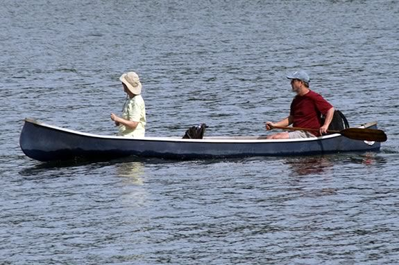 Go canoeing at Harold Parker State Forest with the park interpreter!