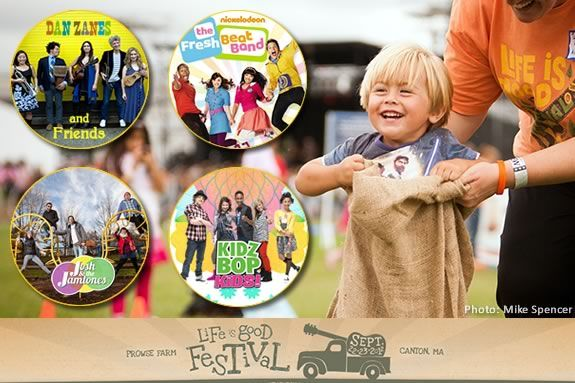 The Life is good Festival welcomes families and kids to this musical event!
