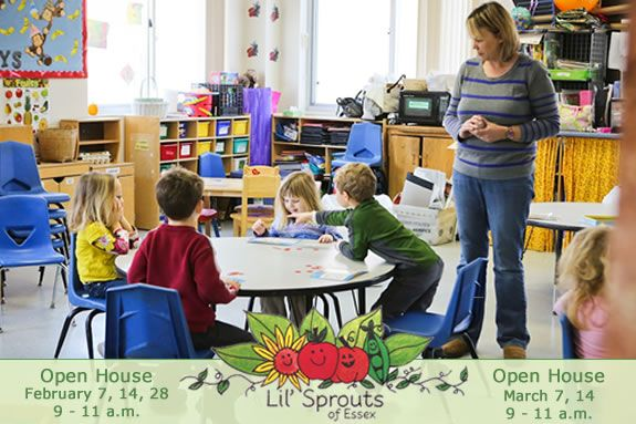 Lil' Sprouts of Essex is a creative, developmental preschool designed to meet th