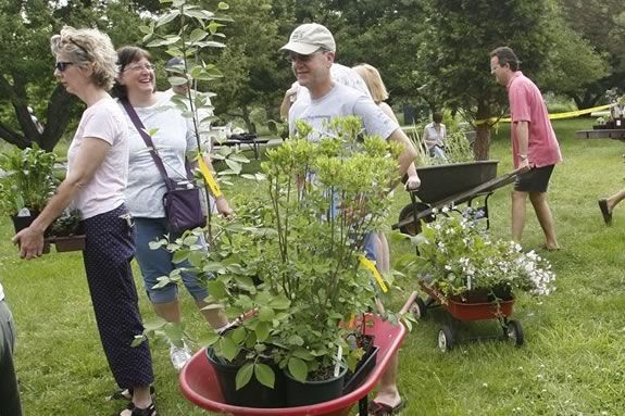The Trustees of Reservations Long Hill Plant Sale - a North Shore tradition