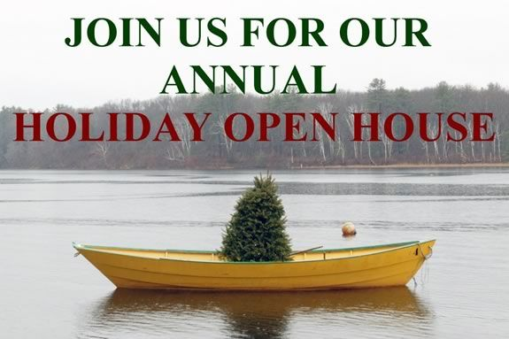 Visit Lowell's Boat Shop in Amesbury for their annual holiday open house!