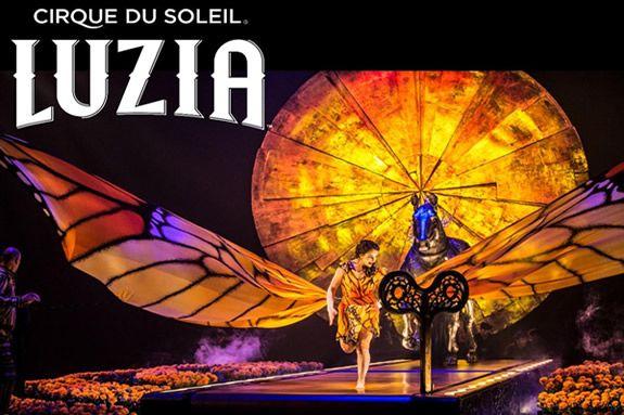 Cirque du Soleil Shows Tickets LUZIA