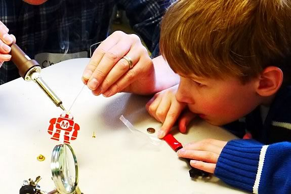 The Make It or Break It Club meets every Friday afternoon at the CMNH