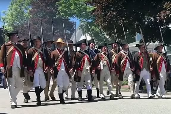Fourth of July Parade in Manchester MA for North Shore Families