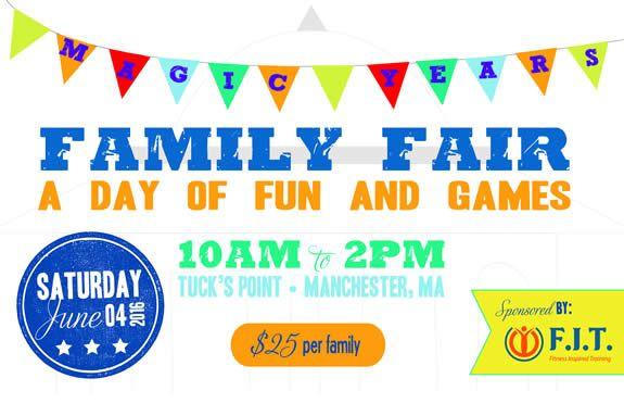 Magic Years Preschool Family Fun Day Beverly MA
