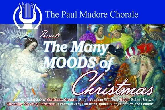 The Paul Madore Chorale 51st Season presents: The Many Moods of a Classical Christmas in Salem Massachusetts