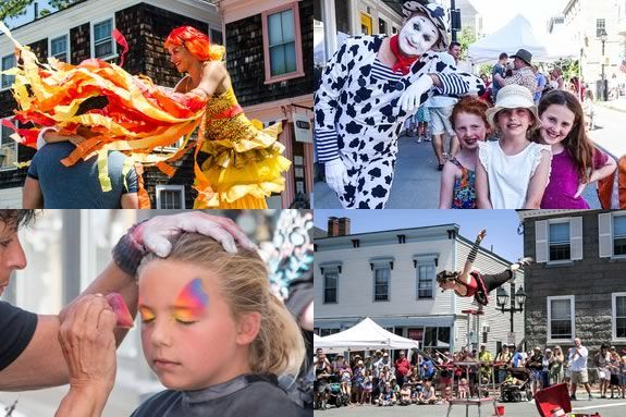 There's plenty to see and do for kids at the Marblehead Street Festival! Part of the Marblehead Festival of the Arts