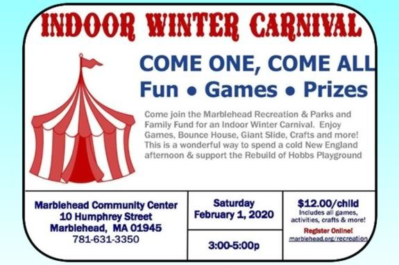 Break up the monotony of Winter at the Marblehead Winter Carnival hosted by Marblehead Rec