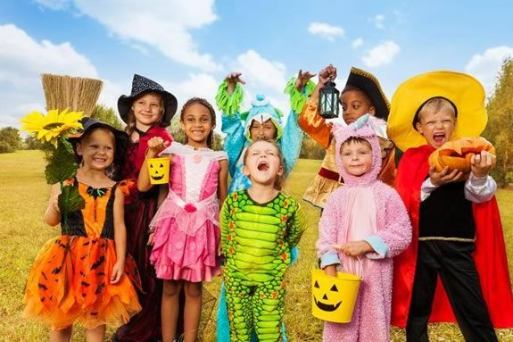 Trick or Treating and Halloween Fun at Marini Farm in Ipswich Massachusetts!